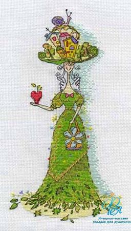 Набор для вышивки крестиком ФЕЯ ФЛОРА ручной работы на заказ