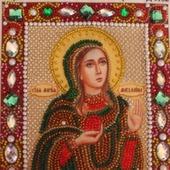 Икона бисером Мария-Магдалина