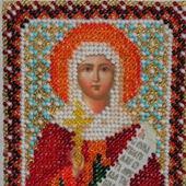 Икона бисером Святая Наталья