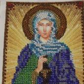 Икона бисером Святая Анастасия Узорешительница