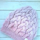 Вязаная шапка ROSE от Knit by Heart в Москве