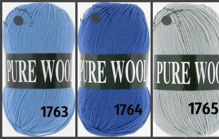 Pure Wool Vita (Пуре Вул Вита) ручной работы на заказ