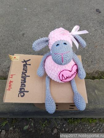 Зефирная овечка Долли ручной работы на заказ