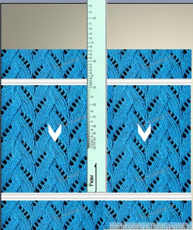 Калибровочные линейки для определения  плотности вязания ручной работы на заказ