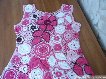 "Блузка ""Розовые сны"" ручной работы на заказ"
