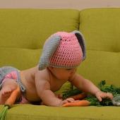 """Для фотосессий малышей """"Зайка с пушистым хвостом"""""""
