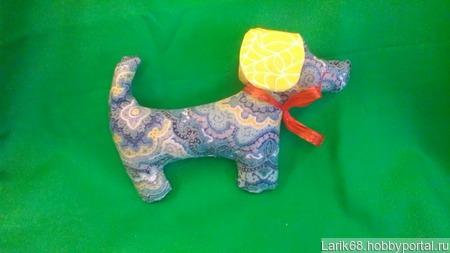 Игрушка собачка ручной работы на заказ