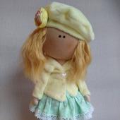 Интерьерная кукла Нежная Девочка