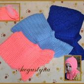 Теплые шапочки для малышей