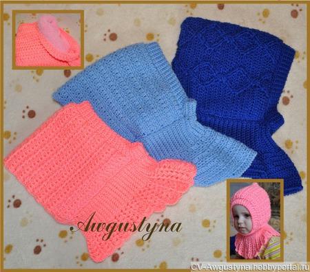 Теплые шапочки для малышей ручной работы на заказ