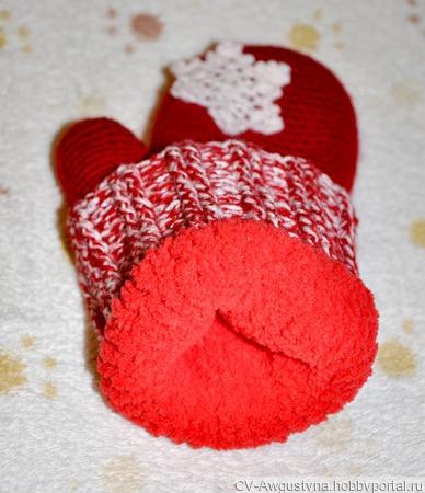 Вязаный комплект: шапка, шарф и варежки ручной работы на заказ