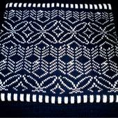 Снуд (шарф) синий.