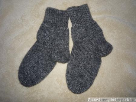Носки шерстяные вязаные ручной работы на заказ