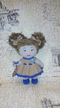 Вязанная кукла ручной работы на заказ