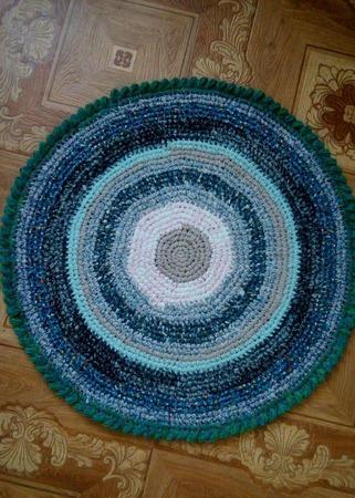 Бабушкин коврик ручной работы на заказ