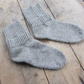 "Носки вязаные ""Теплая зима"""