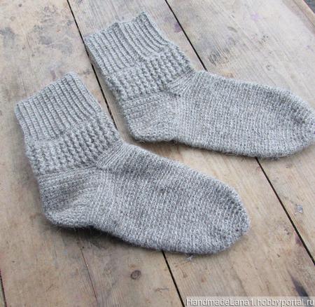 """Носки вязаные """"Теплая зима"""" ручной работы на заказ"""