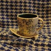 "Чайная чашка ""Незабудки"""