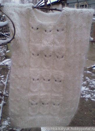 Пуховый комплект Сова Урюпинский козий пух ручной работы на заказ