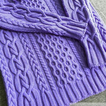 Вязаный свитер ручной вязки в Москве ручной работы на заказ