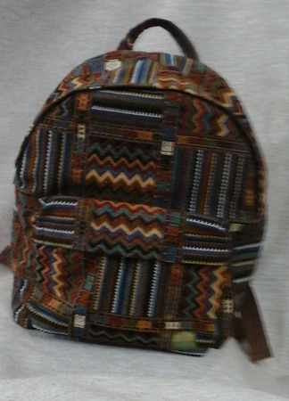 Рюкзак из гобелена ручной работы на заказ