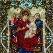 Икона Пресвятой Богородицы «Всецарица» («Пантанасса»)