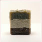 Дары природы. Натуральное мыло с белой, черной и голубой глинами