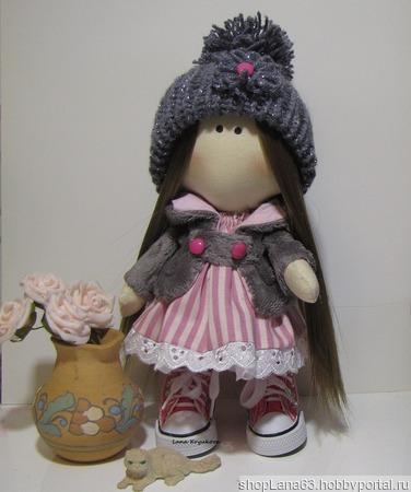 Интерьерная кукла Диана ручной работы на заказ