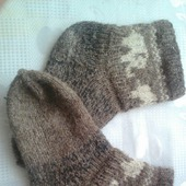 Носки из овечей шерсти