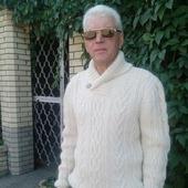 """Свитер мужской ручной работы - модель """"Гармоничный"""" (Олан )"""