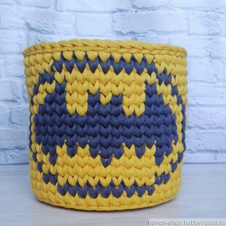 Интерьерная корзинка Бэтмен ручной работы на заказ