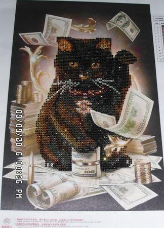 Денежный кот ручной работы на заказ