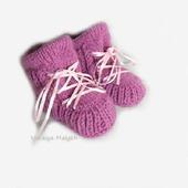 Пинетки ботиночки для новорожденного