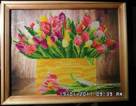 Весенние тюльпаны ручной работы на заказ
