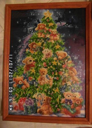 Новогодняя елка ручной работы на заказ