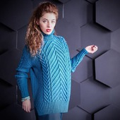 Вязаный свитер оверсайз в Москве