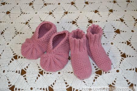 Носочки, пинетки ручной работы на заказ