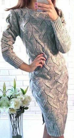Вязаное платье ручной работы ручной работы на заказ