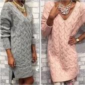 Вязаное платье ручной работы в Москве