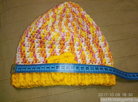 Летняя шапочка ручной работы на заказ