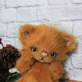 Рыжий котенок Ангел