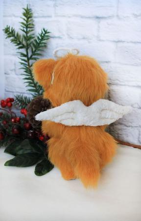 Рыжий котенок Ангел ручной работы на заказ