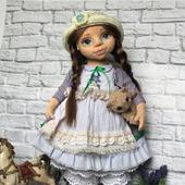 Коллекционная кукла Анюта