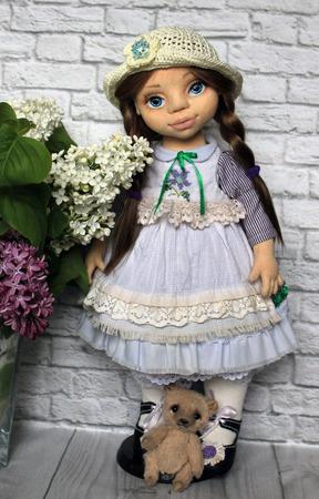 Коллекционная кукла Анюта ручной работы на заказ