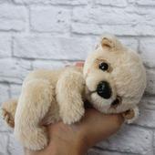 Медвежонок тедди бежевый