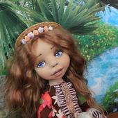 Текстильная кукла Алёна