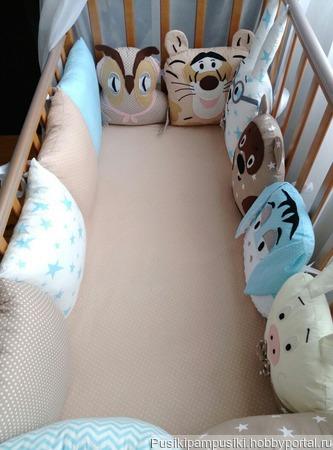 Комплект в кроватку ручной работы на заказ