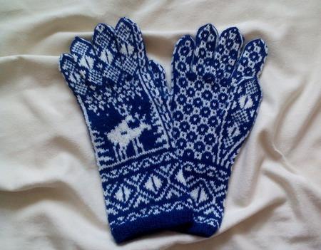Перчатки и шарф ручной работы на заказ
