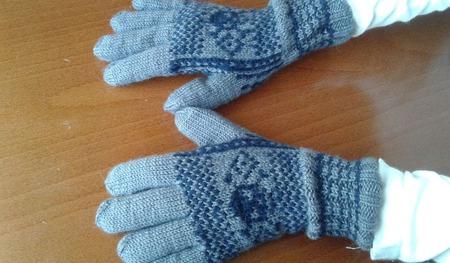 Перчатки для мальчика ручной работы на заказ