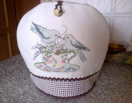 Грелка для чайника ручной работы на заказ